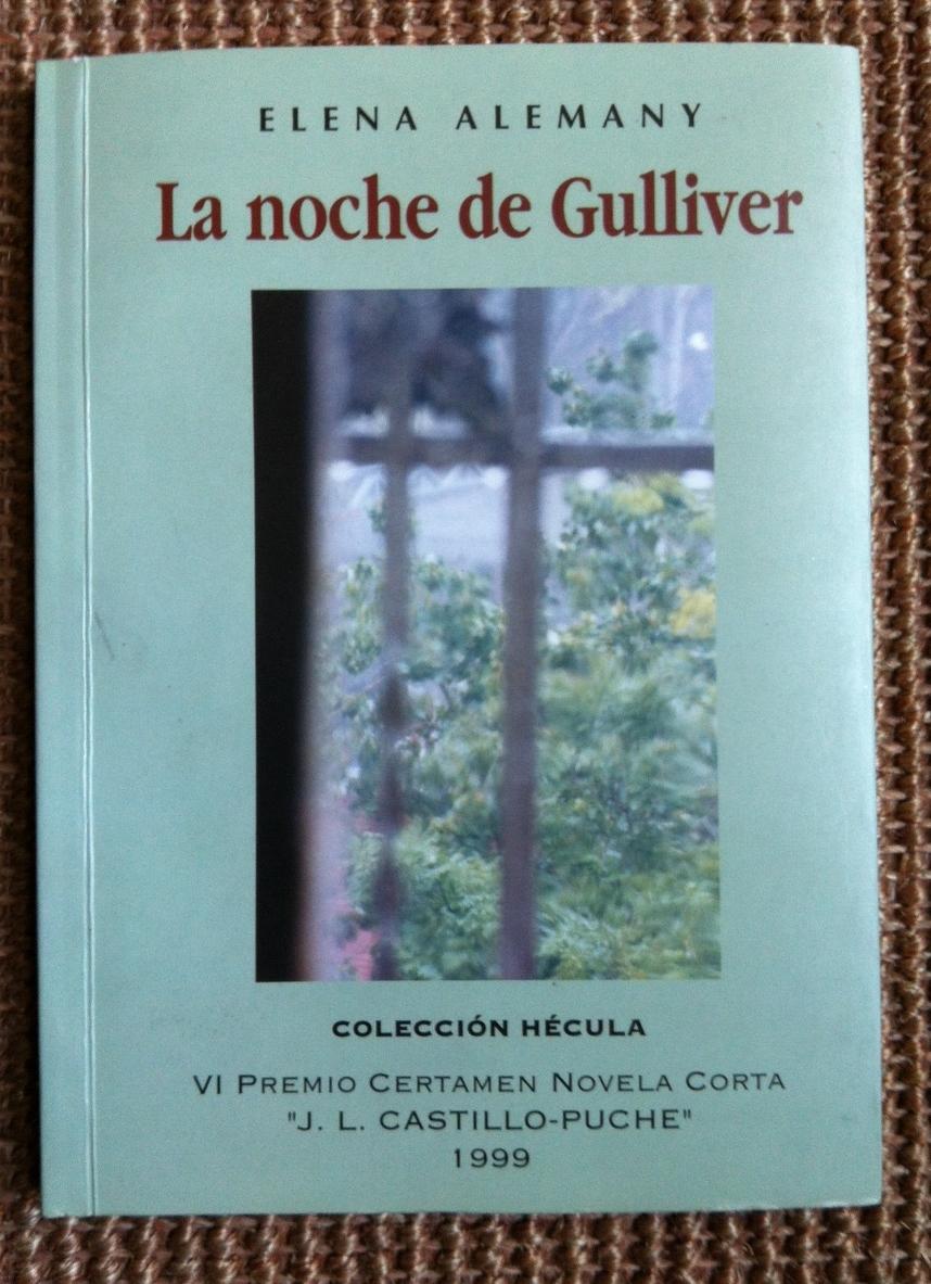 portada novela La noche de Gulliver