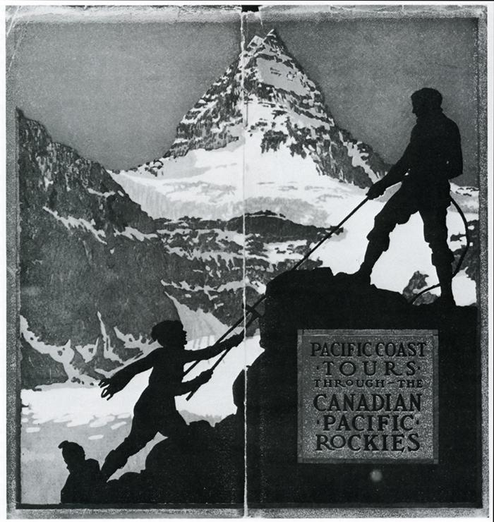Pioneros escalando en Canadá