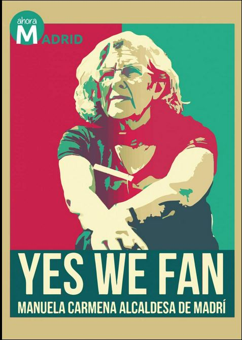 Carmena a lo Yes we fan