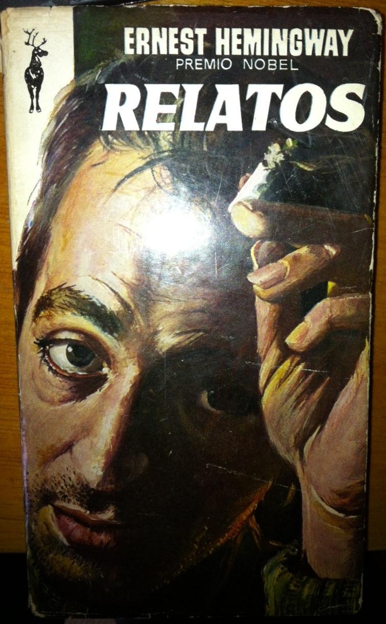 Libro de relatos de Hemingway portada
