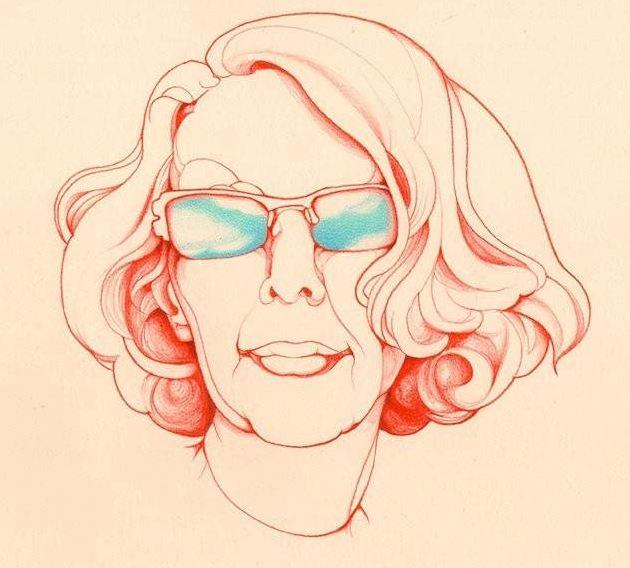 Manuela Carmena dibujo
