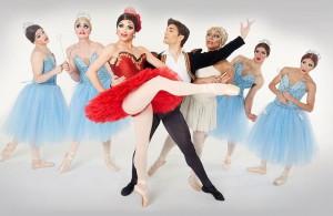 Ballet Trocadero grupo pequeño