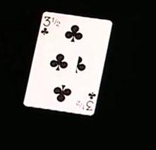 Carta de póquer trucada