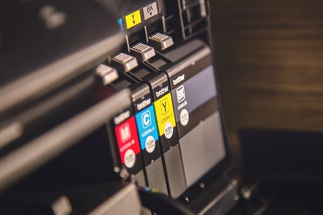 Impresora de cuatricromía