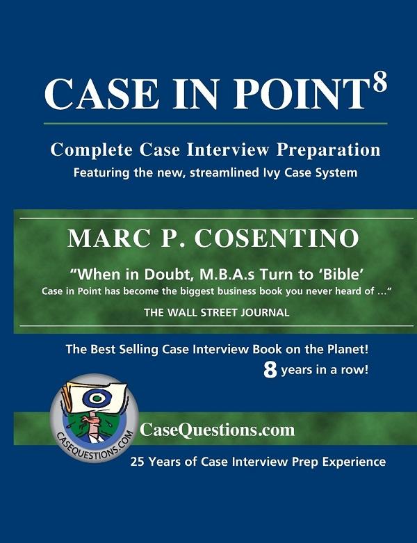 """Portada del libro """"Case in Point"""" de Marc P. Cosentino"""