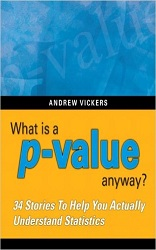"Portada del libro ""What's a p-value, anyway?"