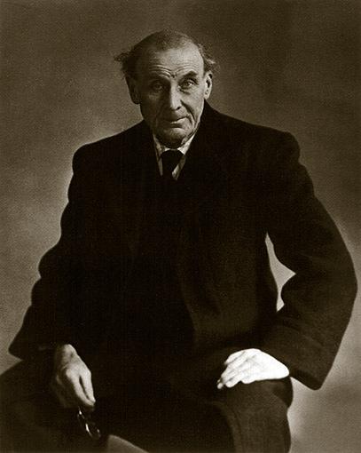 Retrato de Eugène Atget