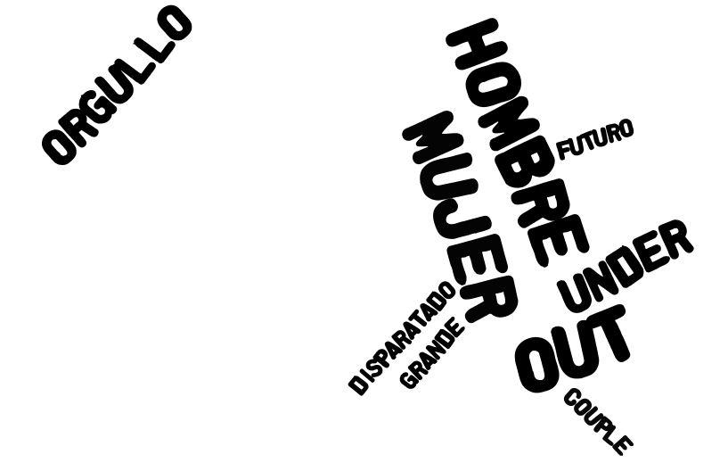 """Ilustración del cuento  bilingüe """"Under all this"""""""