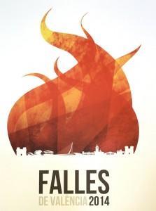 El precioso cartel de Fallas del año pasado