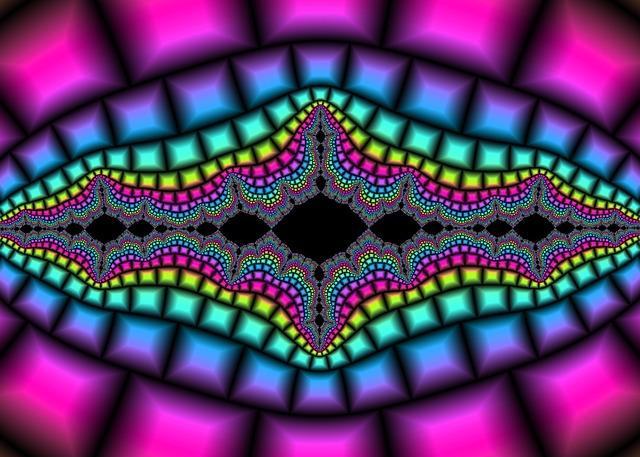 Ilustración fractal